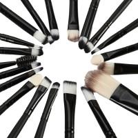 20 Stück Make-up Pinsel zum professionellen Auftragen von Lidschatten