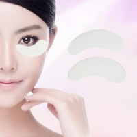 10Paar Augenpads Eye Pads Eyelash Extensions, Silber  8.5 x 11cm