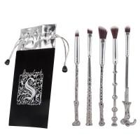 5 Stück Make Up Pinsel Set Kosmetik Bürsten, Form von Zauberstab