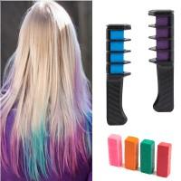 6x Haarkreide Kamm Temporär Haarfarbe Kreide Kamm für Haarfärbemittel