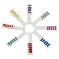 Haarkreide Haarfärbemittel Kamm Temporär Haarfärbekreiden 8 Farbe