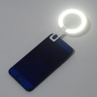 LED Ringlicht Spiegel licht dimmbar weiss Handy Light f. Self Timer