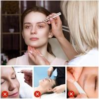 Schmerzloses Augenbrauen Augenbrauenklinge Rasier Trimmer Remover