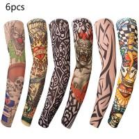 6er Arm Tattoo Strumpf Temporäre Tattoos Arm Tätowierung Armstrümpfe