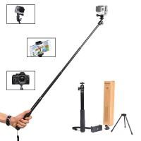Selfie Stick mit Stativ für GoPro Fusion Hero 6/5 Ausziehbare Pole