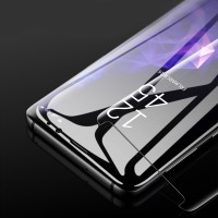 Panzerglas Schutzfolie Abdeckung 3D 9H f. Samsung S9 plus durchsichtig