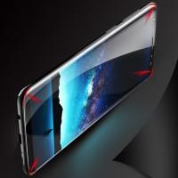 Panzerglas Schutzfolie 3D Voll Abdeckung 9H Samsung S9 plus transparen