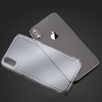 Schutzhülle Hülle Rückschale Silikon Case iPhone XS MAX durchsichtig