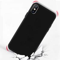 Handyhülle Schutzhülle für iPhone XS MAX 6.5 Case Silikonhülle schwarz