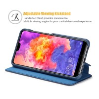 Huawei P30 Flip Handyhülle Handytasche Schutzhülle Tasche Case Hülle