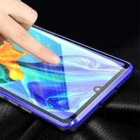 Huawei P30 pro Schutzhülle Flip Case Cover Tasche Gehärtetes Glas