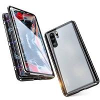 Huawei P30 pro Schutzhülle Case Cover Flip Tasche Gehärtetes Glas