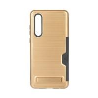Huawei P30 Hülle Tasche Case Schutzhülle mit Ständer TPU Hartplastik