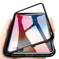 iPhone X/XS Hülle Vollabdeckung Gehärtetes Glas Handyhülle Schutzhülle