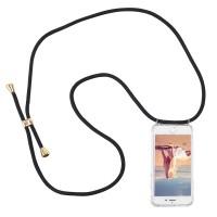 Hülle mit Kordel Silikon Handy Schutzhülle mit Band für iPhone 7/8