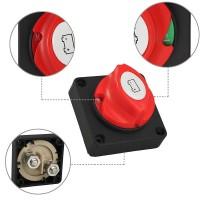 Batterie-Trennschalter Akku Power Cut Off Schalter Hauptschalter Auto