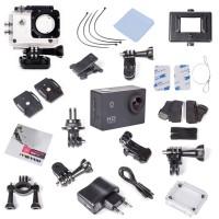 1080P Full HD Unterwasser Aktion Kamera wasserdicht Helmkamera Kits