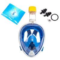 Schnorchelmaske Vollmaske Tauchmaske Anti-Fog Größe L / XL für GoPro