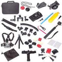 Zubehör für GoPro Hero, 50teilig Gopro Set Action Kamerahalterungen