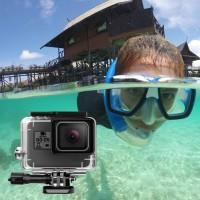 Schutzhülle Gehäuse Wasserresistent mit Rändelschraube für GoPro 5 6