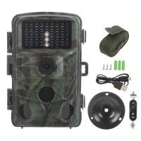 Wildkamera 1080P mit Bewegungsmelder Nachtsicht LCD für Outdoor-Natur