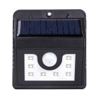 Solarleuchte Außen, 8 LED Solarlampe Wandleuchten für Garten