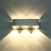 Wandleuchte Wandlampe Gipslampe Wandbeleuchtung LED Licht Wandlicht 6W