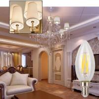 E14 Glühlampe LED Kerzenlampen Leuchtmittel Kerzenbirnen 6er Pack 4W