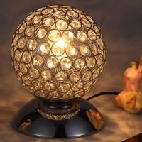 Nachttischlampe Tischlampe Tischleuchte Kristall Modern für Wohnzimmer