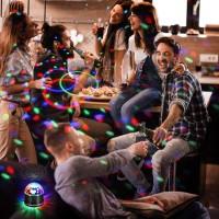 Discolampe Partyleuchte RGB Lichteffekt Bühnenbeleuchtung Party Licht
