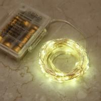 LED Lichterkette Aussenbeleuchtung Batteriebetrieben mit Fernbedienung