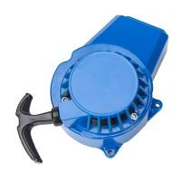 Seilzugstarter Mini Recoil Starter 49CC Blau