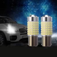 2x LED Bremslicht Schlusslicht Auto Nebelschlusslicht Birn 1156 144SMD