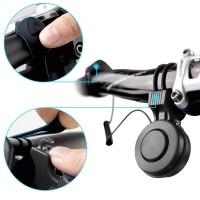 Fahrradhupe Fahrrad Bell Fahrrad Ring Fahrradklingel 120db USB Schwarz