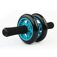 Bauchroller Bauchmuskeltrainer Trainingsgerät AB Wheel mit Knie Pad