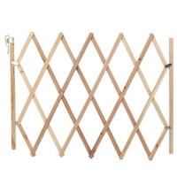 Hundeabsperrgitter Treppenschutzgitter für Haustier  Holz 82cm