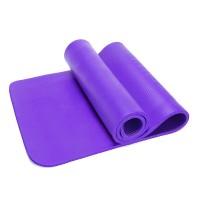 Yogamatte Gymnastikmatte für Fitnessstudio, Pilates 183 x 60 x 0.8 cm