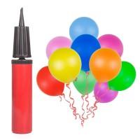 100 Luftballon und 1 Ballonpumpe, Partyballon, Farbige Ballons, Bunte Ballons für Halloween, Weihnachten, Geburtstagsfeiern, Party, Hochzeitsfeiern
