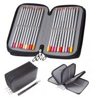 72er Pack Buntstifte Set 1stk Federmäppchen zum Zeichen und Buntmalen