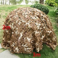 Tarnnetz Armee-Tarnung Netz Camouflage Jagdlager mit Tasche 2x3m