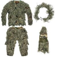 Tarnanzug Ghillie Suit Camouflage für Leute 60-100kg, 170-190cm