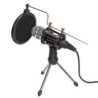Kondensator Mikrofon Set mit Ständer für Studio und Rundfunk Aufnahmen