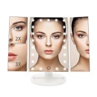 LED Kosmetikspiegel Standspiegel 31SMD Schminkspiegel Make Up Spiegel
