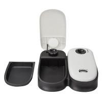 Automatisierte Futterspender für Katzen Hunde 300ml*2 Reinigung