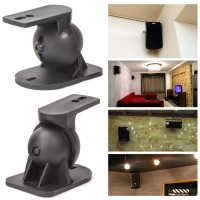 Universal Lautsprecher Wandhalterung Halterung Boxen Halter Schwenkbar