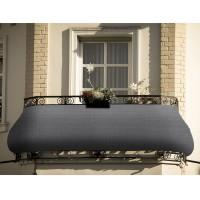 Balkon Sichtschutz blickdichte Balkonumspannung 90x500cm UV-Schutz