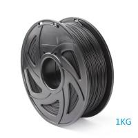 3D Filament PLA 1.75 mm 1.3kg Rolle für 3D Drucker Stift schwarz