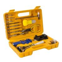 16 Stück Uhrmacherwerkzeug Uhr Werkzeug Tasche Reparatur Set Uhrwerkzeug