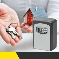 Schlüsseltresor Schlüsselbox Schlüsselkasten mit Zahlenschloss schwarz