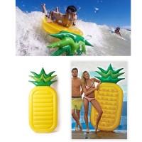 Schwebebett Schwimminsel Ananas Pool Schwimmen 190cm aufblasbar